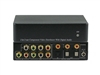 1x2 1:2 Component Video + Digital/Optical Audio Splitter Distribution Amplifier ANI-1X2COMPDA