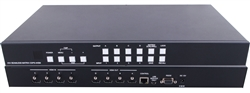 4x4 (4:4) HDMI Video Wall Processor Seamless Matrix Switcher + IR/RS232 ANI-QUAD