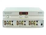 4x2 4:2 Composite RCA S-Video + Stereo Audio Matrix Switcher with Remote SB-5450