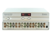 4x2 4:2 Component RCA Video Audio HD Matrix Switcher Splitter with Remote SB5470