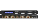 8x8 8:8 Composite Video + Audio Matrix Switch Switcher w/ Volume Control SB-8804